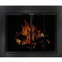 Brand New Residential Retreat Ardmore Fireplace Door
