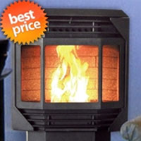 Bay Front Wood Pellet Stove Heater Furnace Fireplace