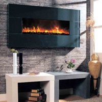 "Dream Flame 58""  Electric Wall Fireplace"