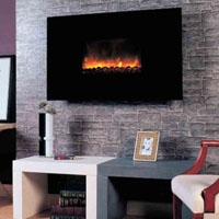 High Grade 38in Electric Wall Fireplace MP