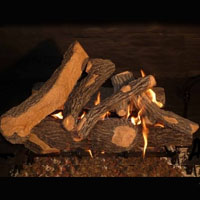 High Grade Canyon Oak 24in Glo-Fire Gas Logs