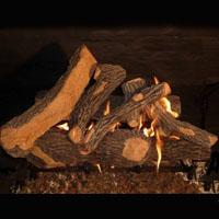 High Grade Canyon Oak 24in Glo-Fire Gas Logs