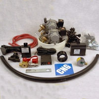CNG Propane Tri Fuel Hybrid Conversion Kit for 8 Cylinder Engines Up to 6.5L