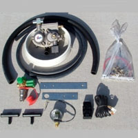 Diesel CNG Propane Tri Fuel Hybrid Conversion Kit for All Diesel Engines 8.0 - 16 Liters