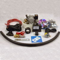 CNG Propane Tri Fuel Hybrid Conversion Kit for 8 or 10 Cylinder Fuel Injected Engines Up to 6.5L