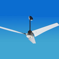Solar Powered 12/24 Volt Ceiling Fan with 3 Blades