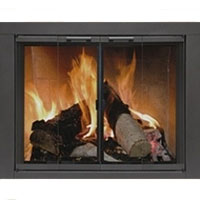 Brand New Residential Retreat Fireplace Door