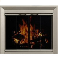 Brand New Residential Retreat Drake Fireplace Door