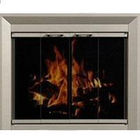 Brand New Residential Retreat Drake Fireplace Door
