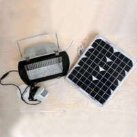 High Quality Solar Powered 102-LED Super Bright White Security Light