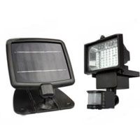 High Quality 56-LED Solar Powered PIR Sensor Wall & Security Light