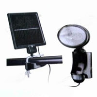 High Quality 9-LED Solar Powered PIR Sensor Wall and Security Light