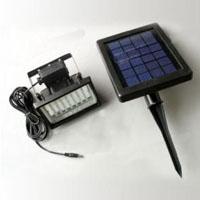 High Quality 28-LED Solar Powered Flood Wall and Security Light