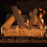 High Grade Richmond 18in Glo-Fire Gas Logs