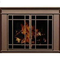 Brand New Residential Retreat Hamilton Fireplace Door