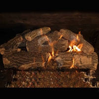 High Grade Kingston 24in GloFire Gas Logs