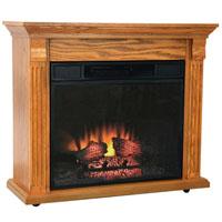 Electric Fireplace 1400 Heater Oak