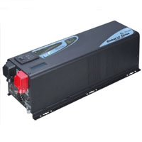 1500 Watt Pure Sine Inverter Charger w/ Built in Solar Charge Controller
