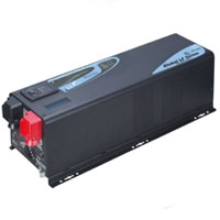3000 Watt Pure Sine Low Frequency Solar Inverter Charger - 24 Volt