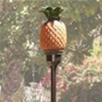 High Grade Pineapple Tiki Torch with Pole