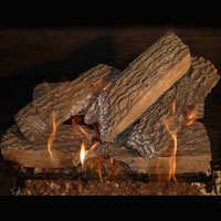 High Grade Split Oak 24in Glo-Fire Gas Logs