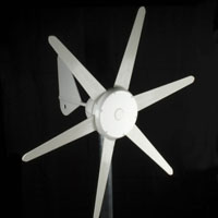 WG300 Wind Turbine Generator 300W 24V with Integrated Controller