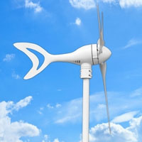 WG350 Wind Turbine Generator 350W 24V with Charge Controller5.0