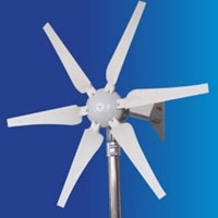 WG400 Wind Turbine Generator 400W 24V + Controller