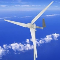 WG550 Wind Turbine Generator 550W 12V with Charge Controller