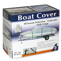 Brand New Grey 17ft - 19ft Boat Cover
