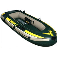 2 Person Inflatable Boat Set