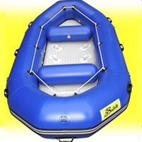 14' Blue Inflatable White Water River Raft
