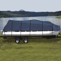 Brand New Heavy Duty 17' to 20' Pontoon Boat Cover