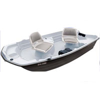 Brand New 10' Polyethylene Professional Fishing Boat