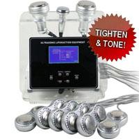 3-in-1 Liposuction Cavitation Bipolar RF Microcurrent Machine