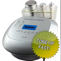 2 in 1 Ultrasonic Liposuction Cavitation Radio Frequency Machine