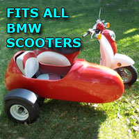 BMW Side Car Scooter Moped Sidecar Kit