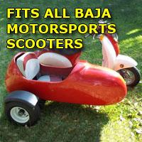 Baja Motorsports Scooter Sidecar Kit