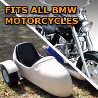 BMW Side Car Motorcycle Sidecar Kit