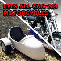 Can-Am Side Car Motorcycle Sidecar Kit