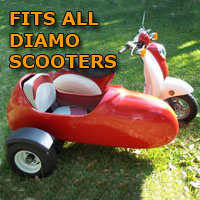 Diamo Side Car Scooter Moped Sidecar Kit