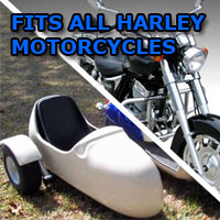 Harley-Davidson Side Car Motorcycle Sidecar Kit