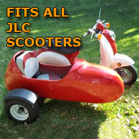 JCL Side Car Scooter Moped Sidecar Kit
