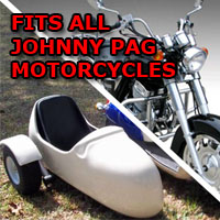Johnny Pag Side Car Motorcycle Sidecar Kit