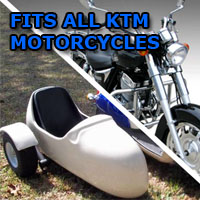 KTM Side Car Motorcycle Sidecar Kit