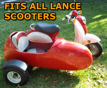 Lance Side Car Scooter Moped Sidecar Kit