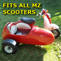 MZ Side Car Scooter Moped Sidecar Kit