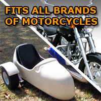 All Brands Side Car Motorcycle Sidecar Kit