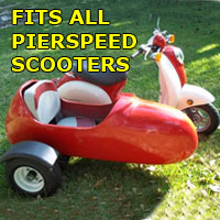 Pierspeed Side Car Scooter Moped Sidecar Kit