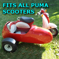 Puma Side Car Scooter Moped Sidecar Kit